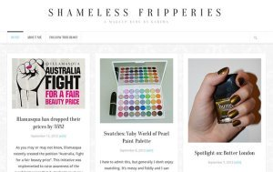 Shameless Fripperies has undergone a makeover!