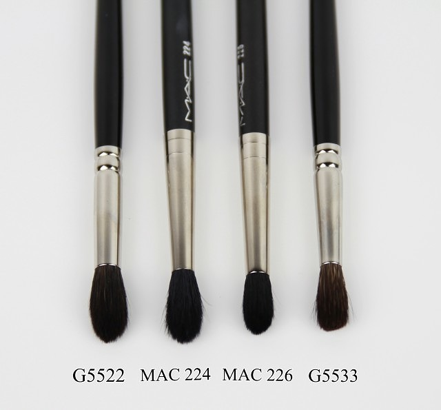 Hakuhodo Crease Brush Reviews – G5522 & G5533 + Top Three Recommendations