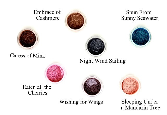 Rouge Bunny Rouge – Loose Glitter Pigments – Fire Drops