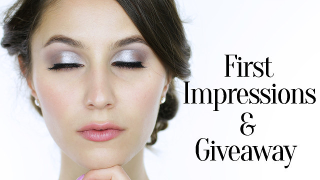 First Impressions Video & Giveaway!