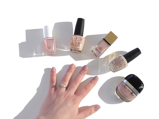 5 Chic Nude Nail Polishes