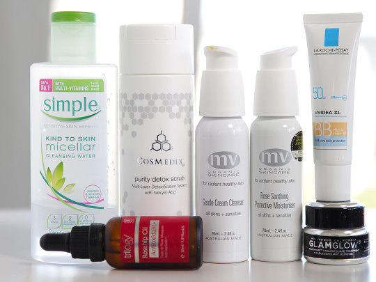 What's in my travel skincare bag?