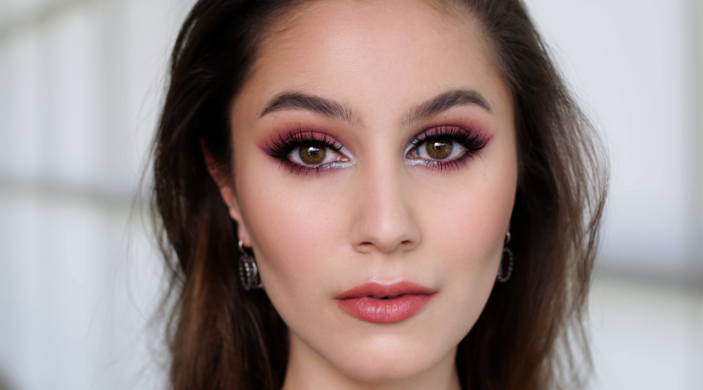 Burgundy Winged Liner | Fall Inspired Makeup Tutorial