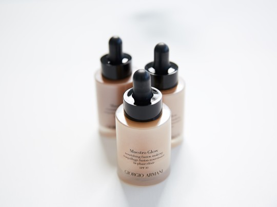 Armani Maestro Glow Foundation First Impressions