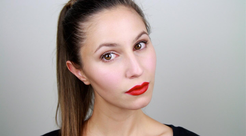 Red Lipstick Tutorial- Modern Minimalism