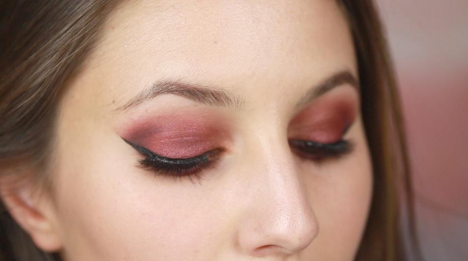 Red Eyeshadow Makeup Tutorial