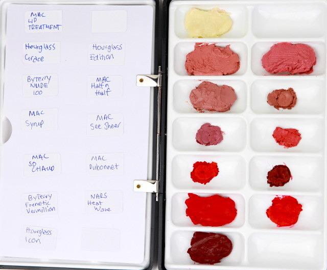 Lipstick Palette Update