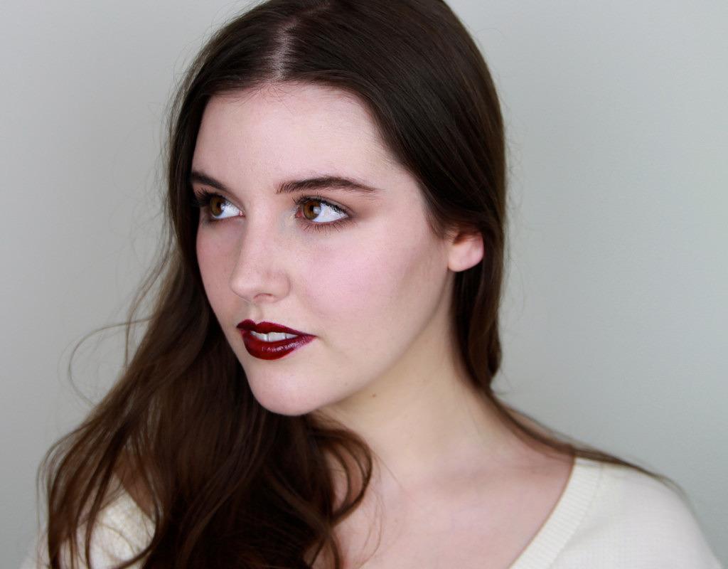 Vinyl Finish Vampy Lips Makeup Tutorial
