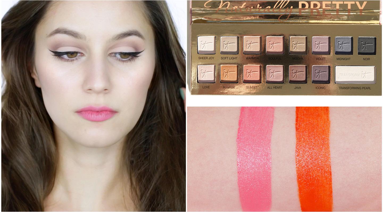 First Impressions – It Cosmetics Naturally Pretty & Ellis Faas Hot Lips