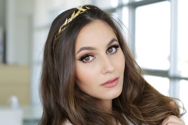 Spring Goddess | Peach & Coral Makeup Tutorial