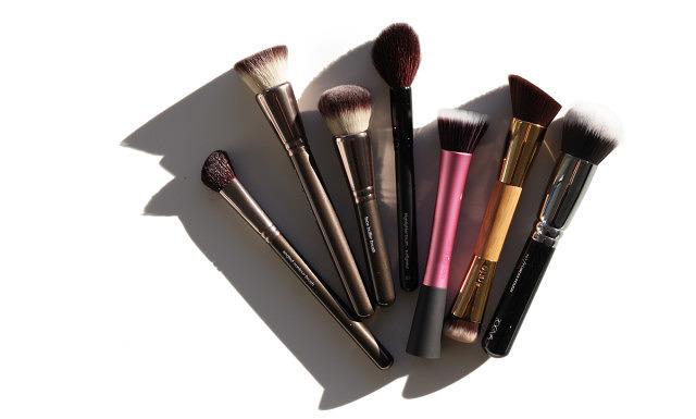 Purge Pile #2 – Brushes, Laura Mercier, Shiseido