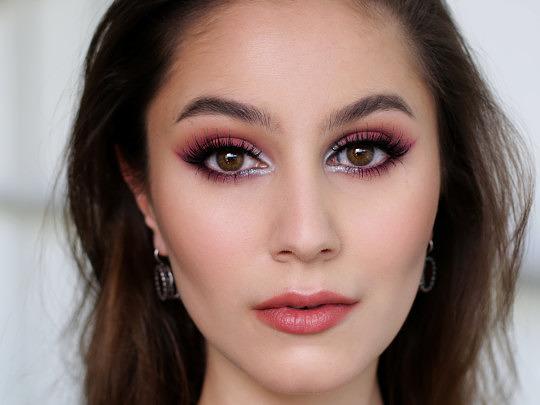 Burgundy Winged Liner | Fall Inspired Makeup Tutorial