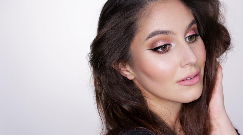 Valentine's Makeup – Rosegold Eyes & Glowy Skin