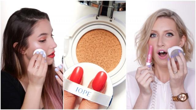 Korean CUSHION Makeup Reviews #sharima