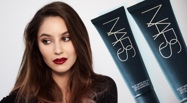 NARS Velvet Matte Skin Tint Foundation First Impressions