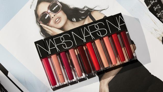 NARS Velvet Lip Glide Review & Swatches